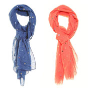 Fashion Summer Scarf Anais Spotty Design