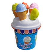 Bucket Set With Ice Cream Lid