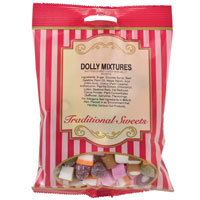 Dolly Mixtures Traditional Sweets 150g Bag