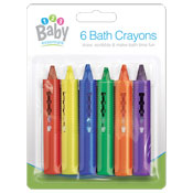 Baby Bath Crayons 6 Pack