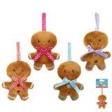 Gingerbread Mini Plush Toy With Ribbon 10cm
