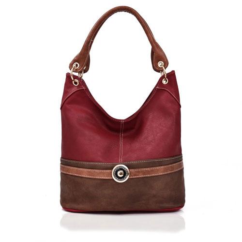 Tulisa Jewel Embelish Tote Bag Red