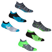 Mens 3 Pack Sport Trainer Socks Liners Run/Walk