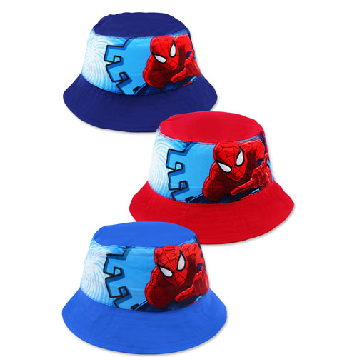 Official Childrens Spiderman Bush Hats