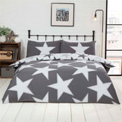 All Stars Grey Reversible Duvet Set