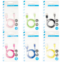 Type C USB Cable Mixed Colours