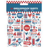 BBQ Greaseproof Sheets