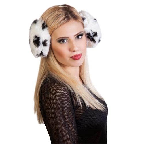 Mongolian Style Oversize Ear Muffs Animal