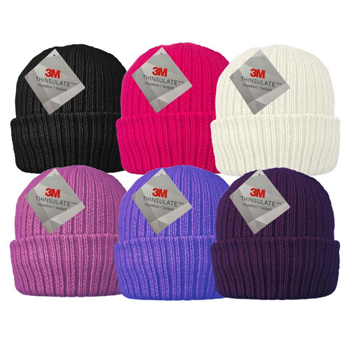 Ladies Thermal Hats with 3M Thinsulate Lining