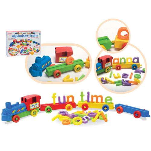 Build Your Own Alphabet Train Set