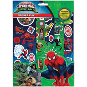 Spiderman v Sinister 6 Sticker Fun Set