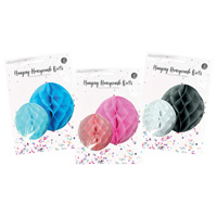 Hanging Honeycomb Balls 2 Pack