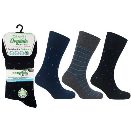 Mens Wellness Organic Cotton Socks Bangkok