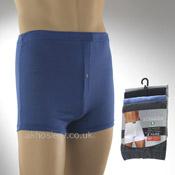 Mens Plain Boxer Shorts
