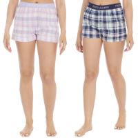 Ladies Woven Check Shorts