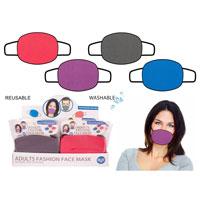 Adult Washable Face Mask Plain