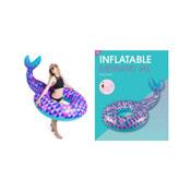 Inflatable Mermaid Tail Swim Ring