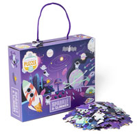 Sparkle And Glimmer Space Puzzle 150 Pieces
