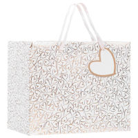 Perfect Day Gift Bag Medium Hearts