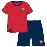 Official Mens Arsenal Shortie Pyjamas