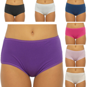 Ladies Midi Briefs 5 Pack