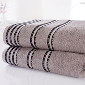 Sirocco Luxury Cotton Hand Towels Charcoal