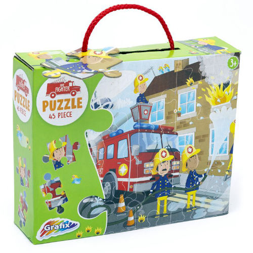 Fire Fighter Puzzle 45 Pieces