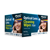 Optical Lens Cleaning Wipes