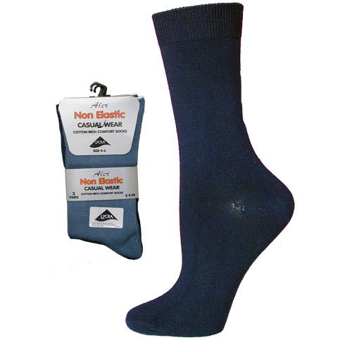 4-6 Non Elastic Lycra Sock