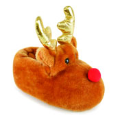 Kids Christmas Rudolph Reindeer Slipper