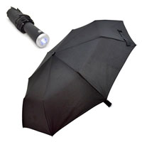 Torch Umbrella With Auto Open Close