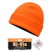 Adults Hi Vis Reversible Thinsulate Thermal Hat Orange