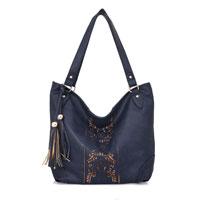 Miai Double Tassel Shopper Bag Blue