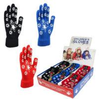 Childrens Magic Gripper Gloves in Display Box Football