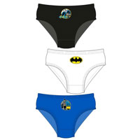 Boys Official Batman Briefs 3 Pack