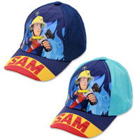 Official Childrens Fireman Sam Baseball Cap
