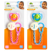Silicone Pacifier With Holder