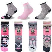 Animal Face Design Kids Novelty Socks
