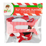 Christmas Elf Clothes Line Bunting