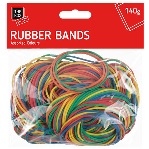 Elastic Coloured Rubber Bands