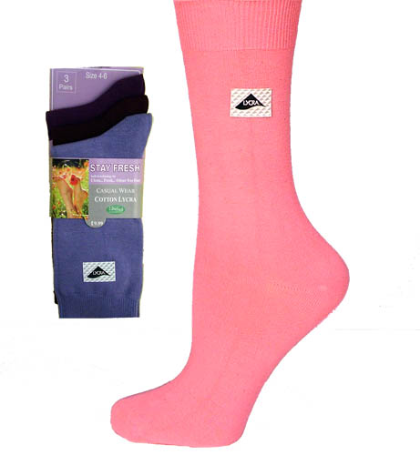 Wholesale Stay Fresh Socks