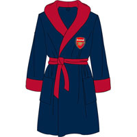Official Mens Arsenal Fleece Dressing Gowns