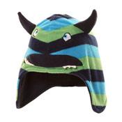 Kids Stripey Monster Hat