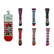 Ladies Minnie Mouse Socks