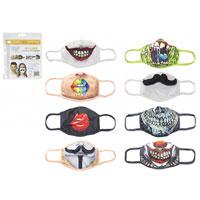 Reusable Stretchable Face Masks Novelty Prints
