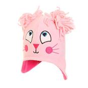 Girls Novelty Fleece Peru Hat