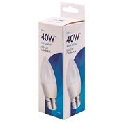 LED Candle Light Bulb B22