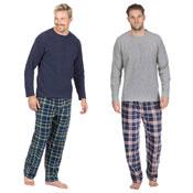 Mens Checked Style Pyjama Set
