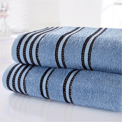 Sirocco Luxury Cotton Bath Towels Denim