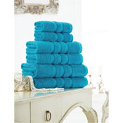 Supreme Cotton Bath Towels Turquoise